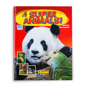 Альбом для наклеек Panini «Super Animals!»